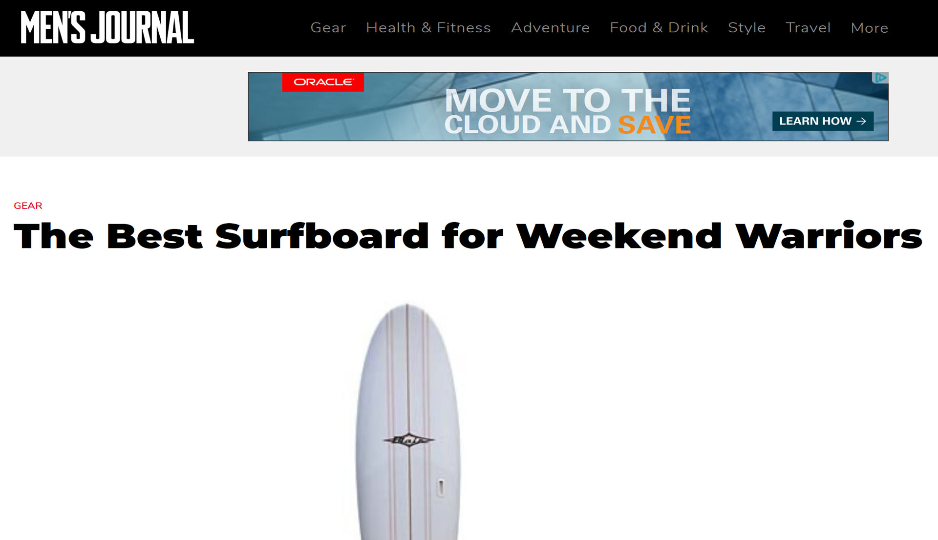 Mens Journal Best Boards For Weekend Warriors