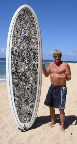 Joe Blair and Paddle Board
